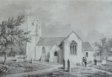Old image of St Catherine's Church